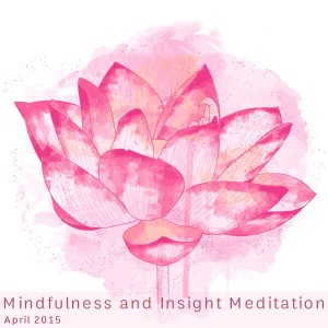 Mindfulness and Insight Meditation Training I, April 2015